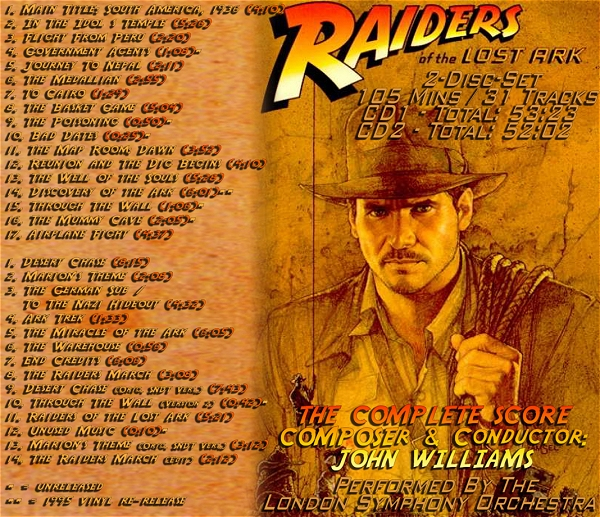 Raiders Of The Lost Ark Expanded Edition